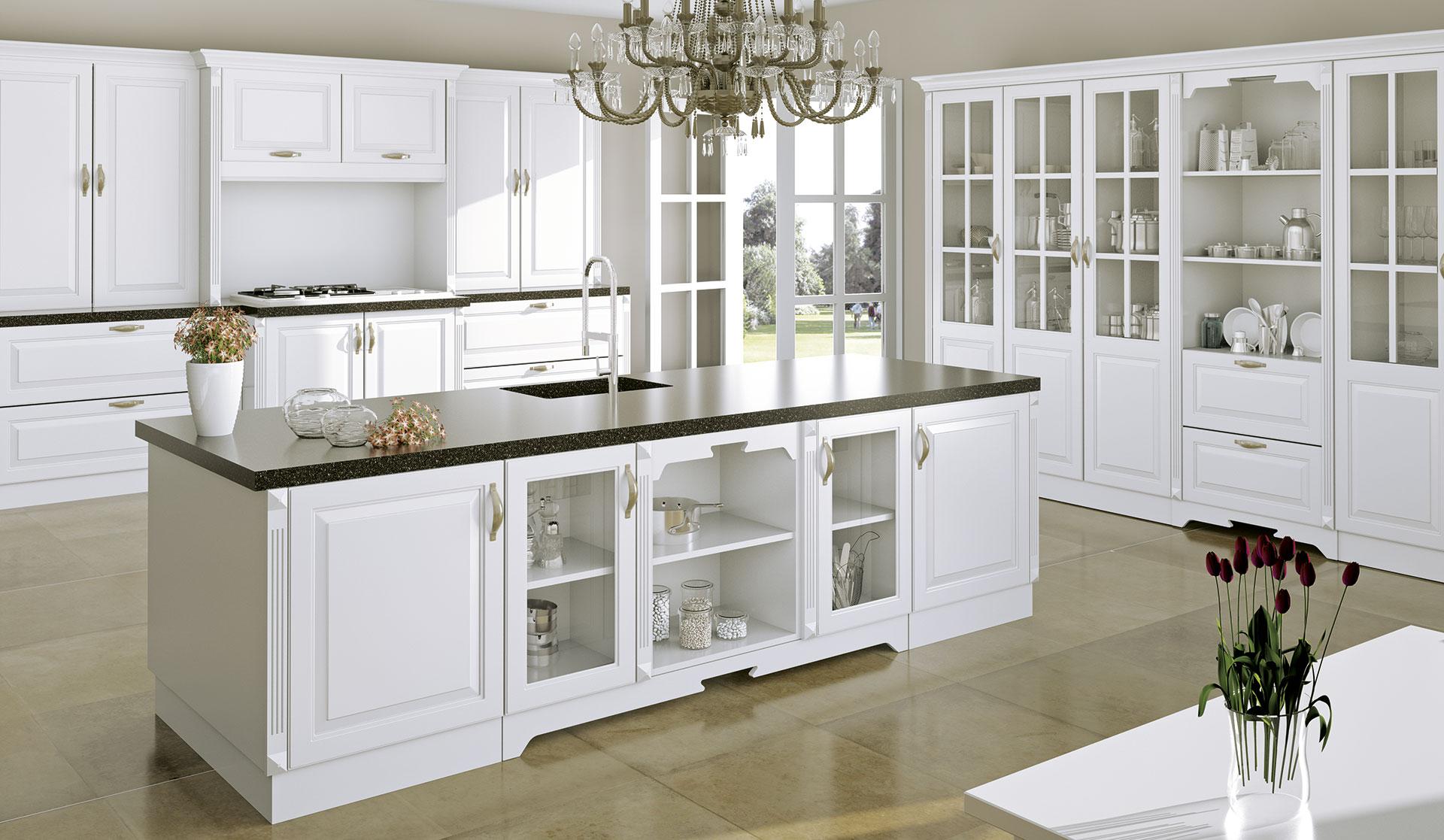 Muebles de cocinas blanco