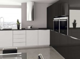 COCINA-TOUCH-TIRADOR-FORMA-BLANCO-BRILLO-GRAFITO-BRILLO